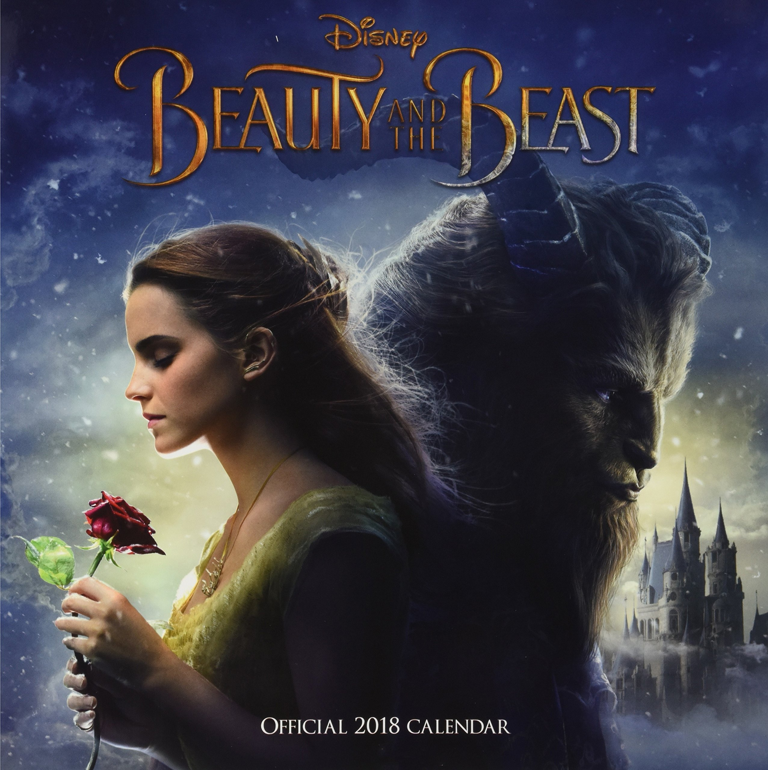 Beauty and The Beast Official 2018 Calendar - Square Wall Format
