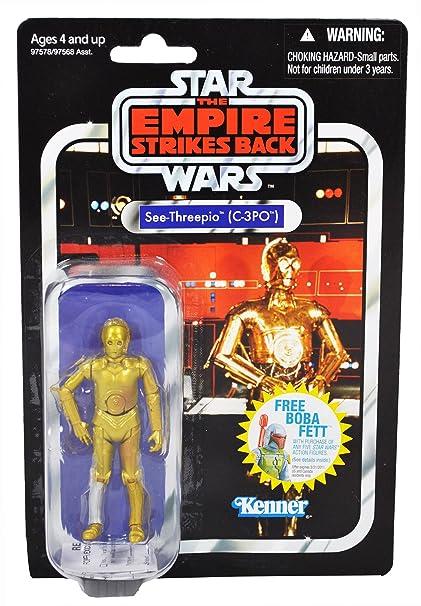 C-3PO See-Threepio Vintage STAR WARS Saga Original Trilogy Collection