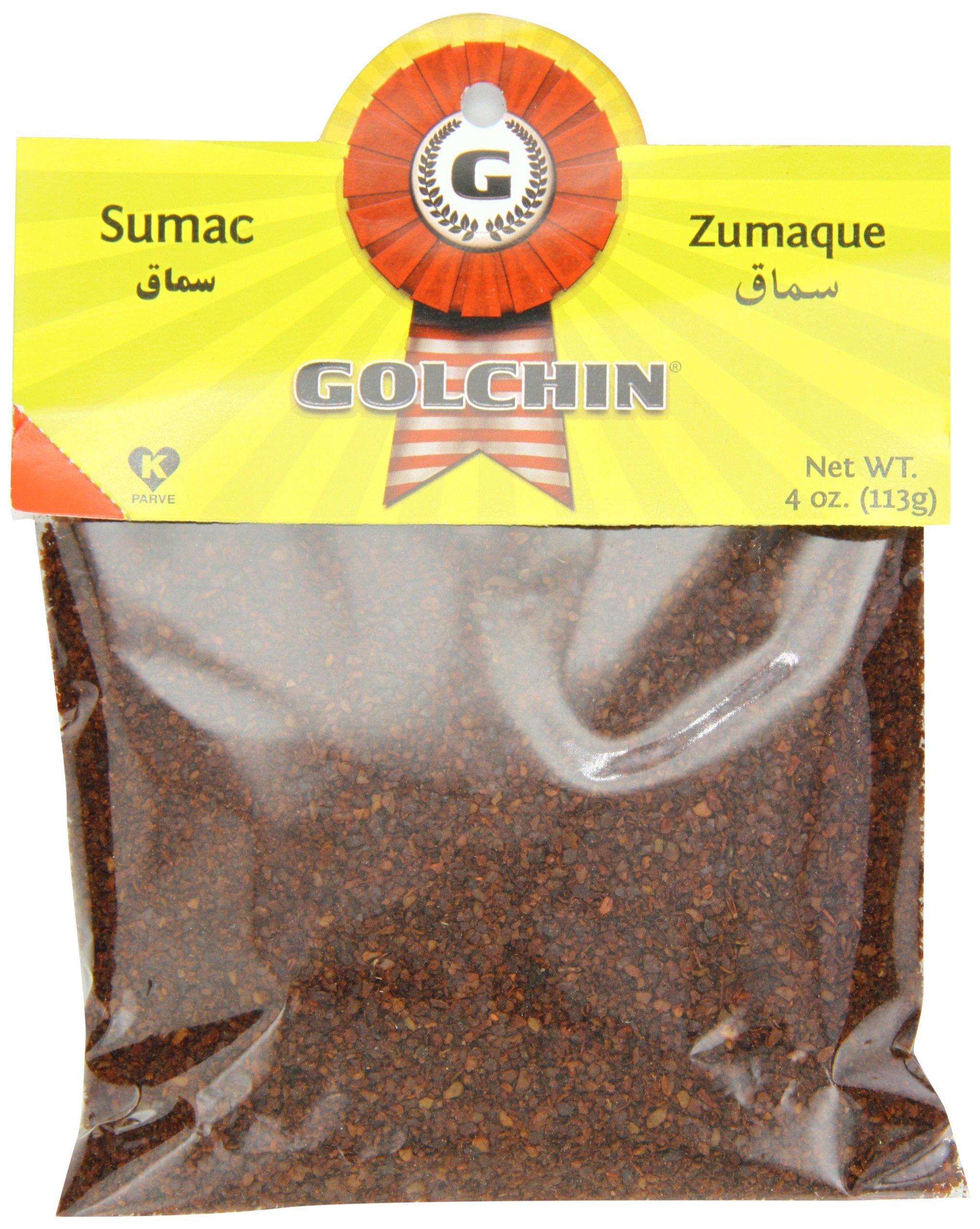 Golchin Sumac, 4 Ounce (Pack of 12) by Golchin
