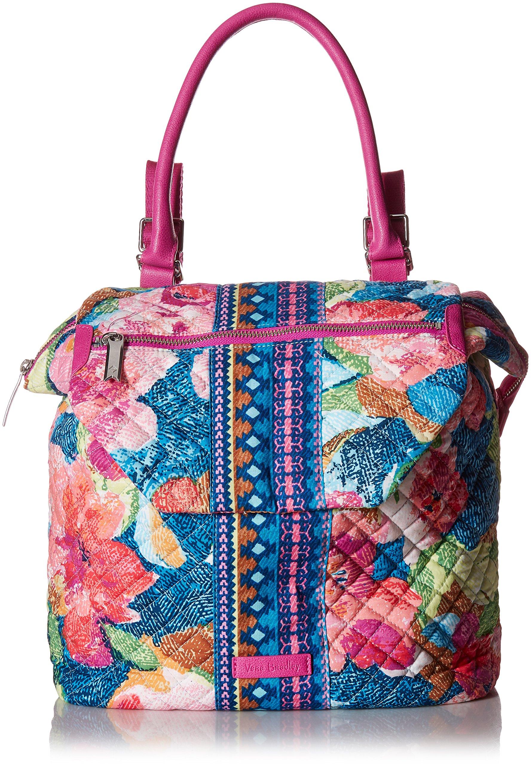 Vera Bradley Change It Up Backpack, Signature Cotton, Superbloom by Vera Bradley