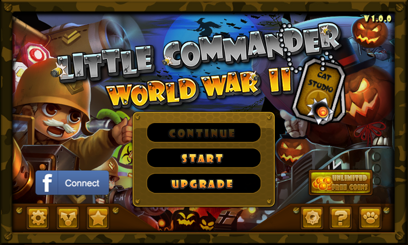 Amazon.com: Little Commander - WWII TD Halloween Special: Appstore for Android