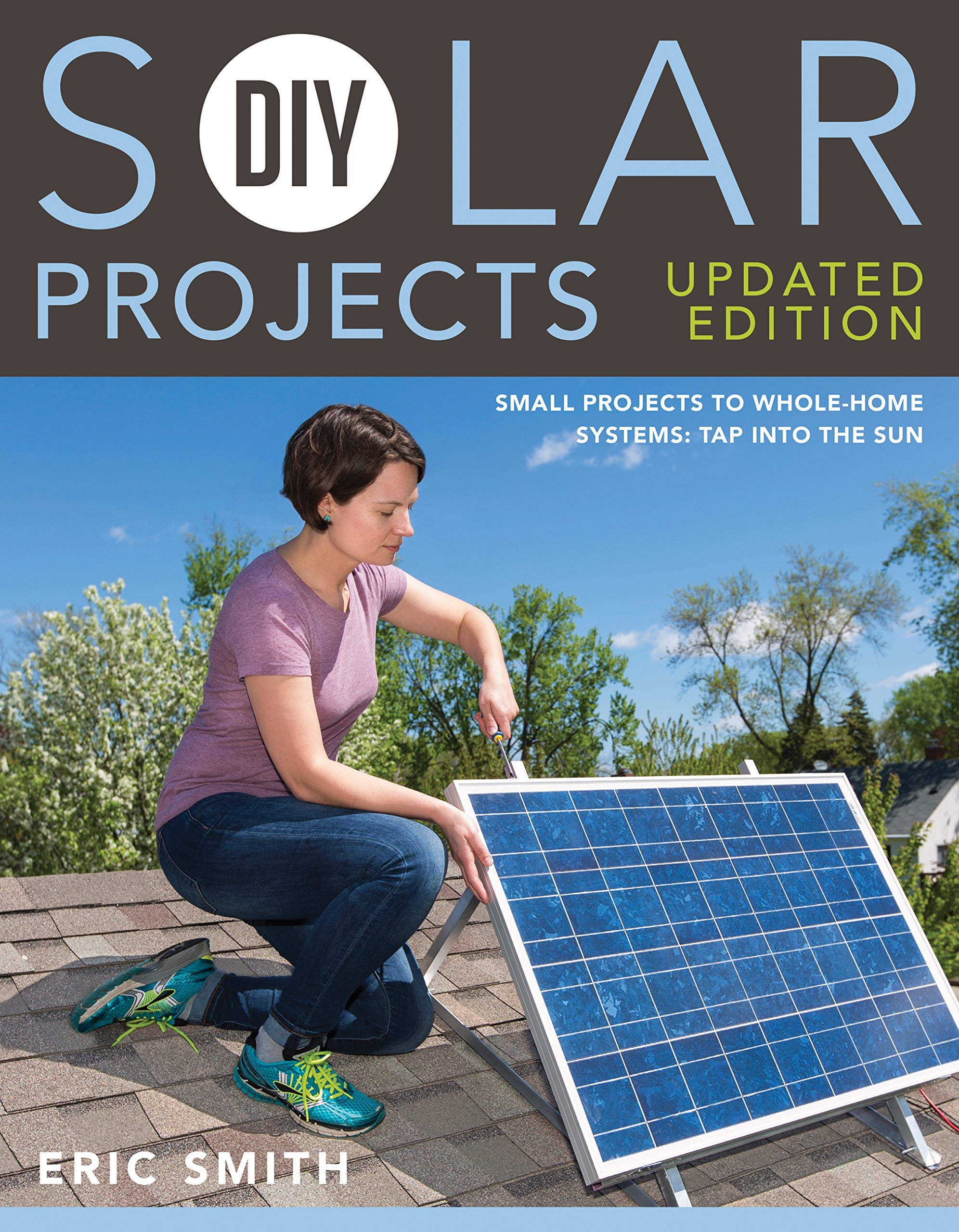 Diy Solar Projects Updated Edition Small To Whole Home Create A Powered Shed Howtos Systems Tap Into The Sun Eric Smith Philip Schmidt 9781591866640 Books
