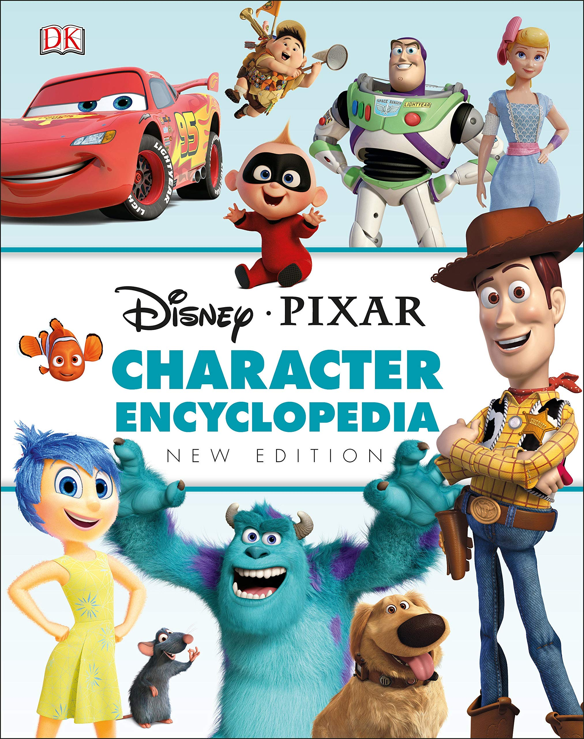 Amazon Com Disney Pixar Character Encyclopedia New Edition