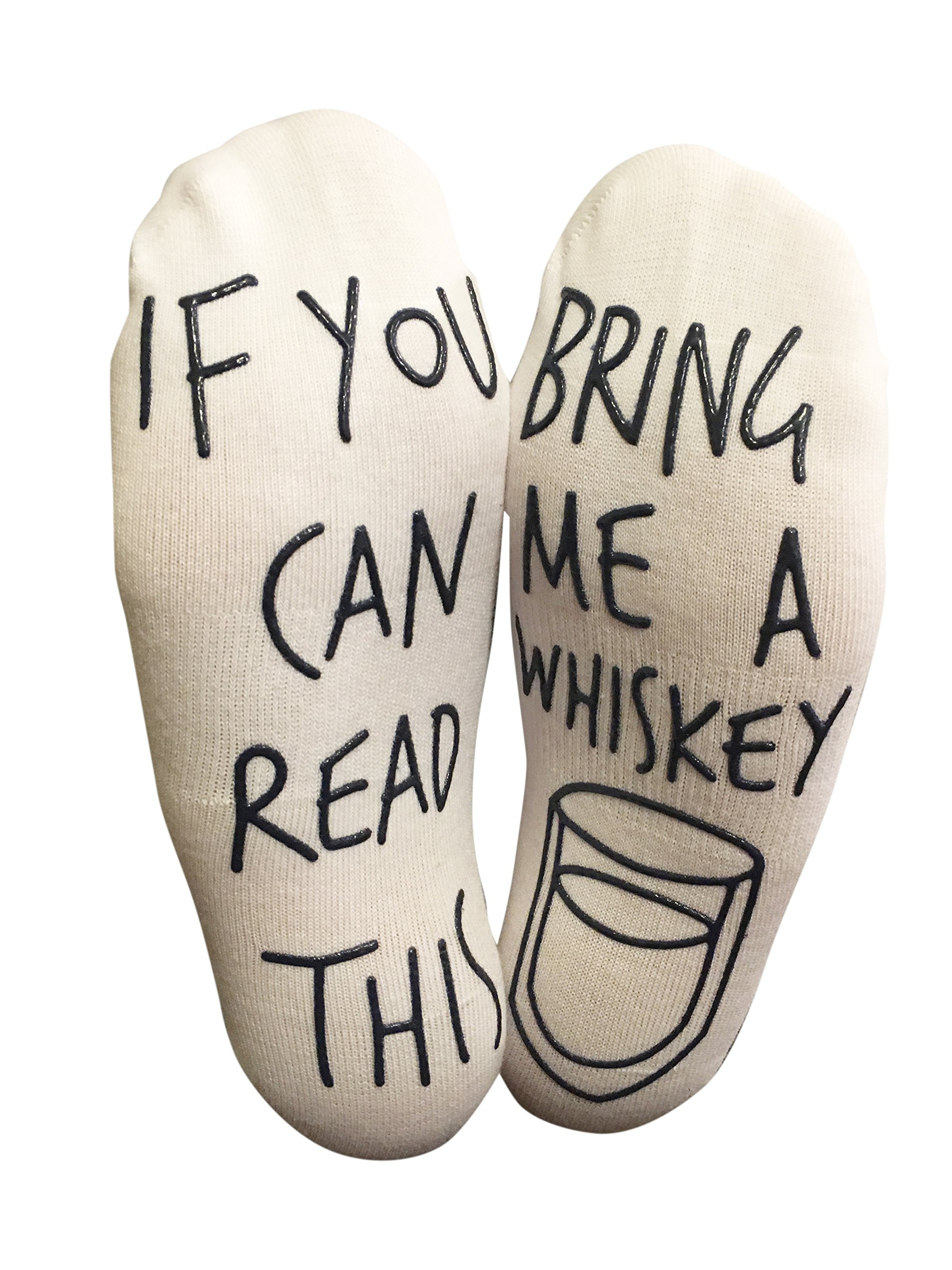If You Can Read This Wine Beer Hosiery IRISGOD Novelty-Fun-Crazy-Socks for Men and Women
