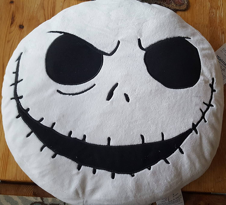 Amazoncom 19 Nightmare Before Christmas Jack Skellington 20Th Anniversary Pillow