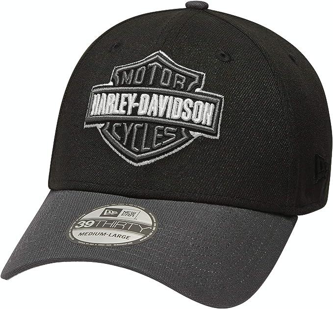 HARLEY-DAVIDSON 39THIRTY Gorra con Logo Bordado Oficial para ...