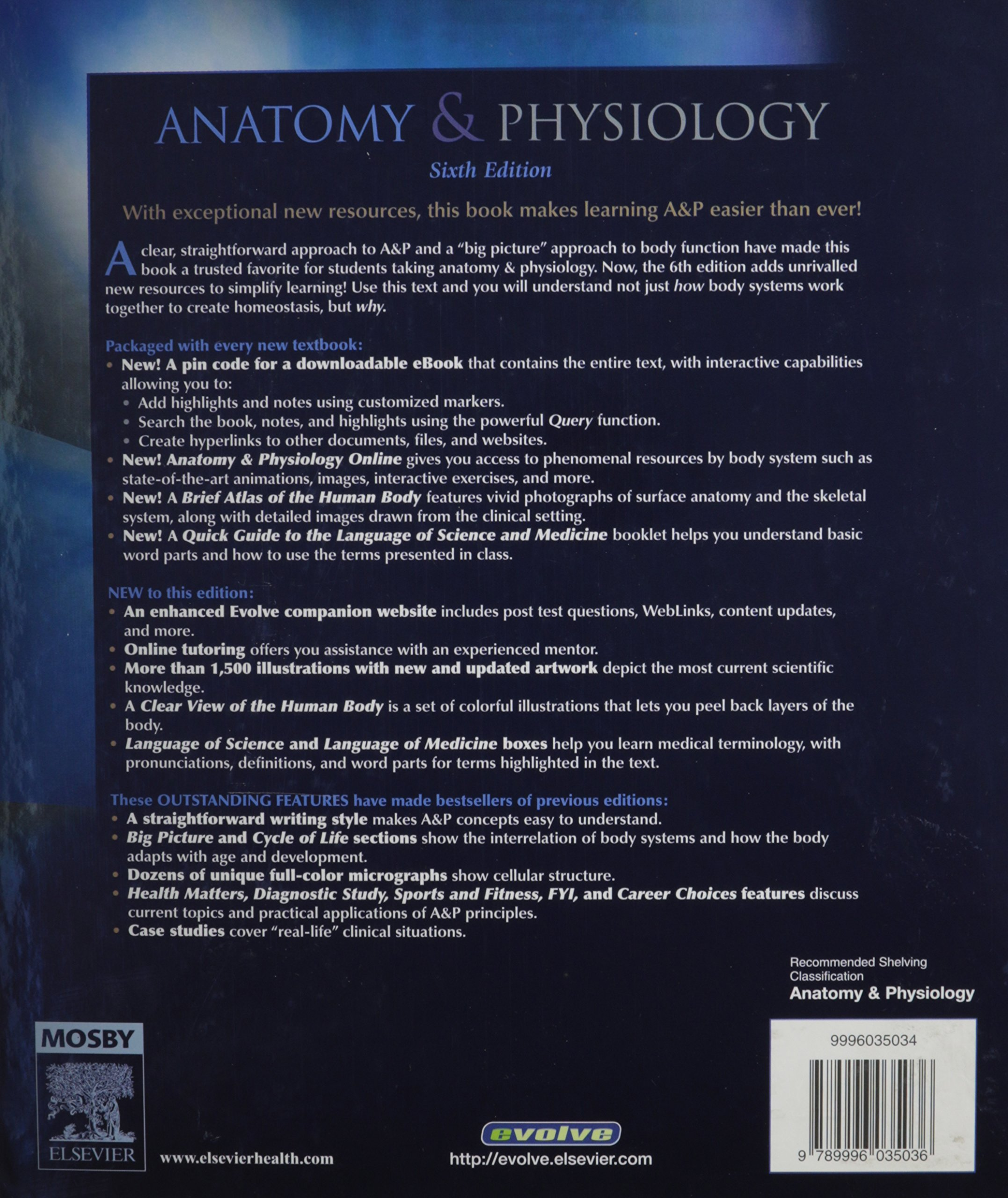 ANATOMY & PHYSIOLOGY : Sixth Edition: Gary A. Thibodeau, Kevin T ...