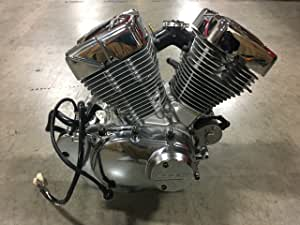 Lifan - Motor de motor de motor de motor de 250 cc con motor de YAMAHA V-TWIN, 250 cc: Amazon.es: Jardín