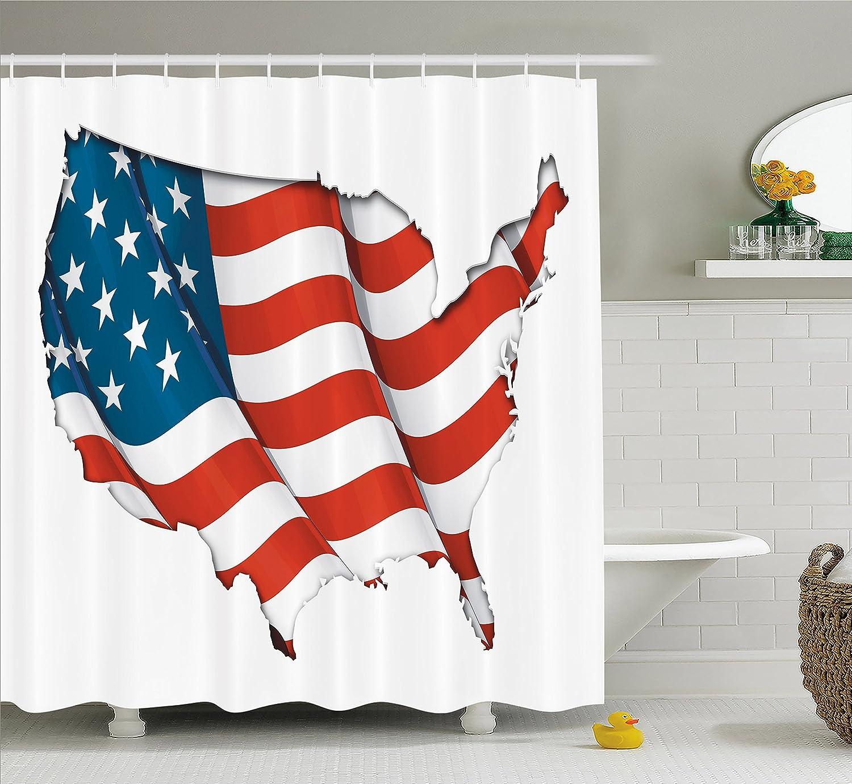 Amazon.com: Japanese Decor Shower Curtain Set By Ambesonne, Vintage ...