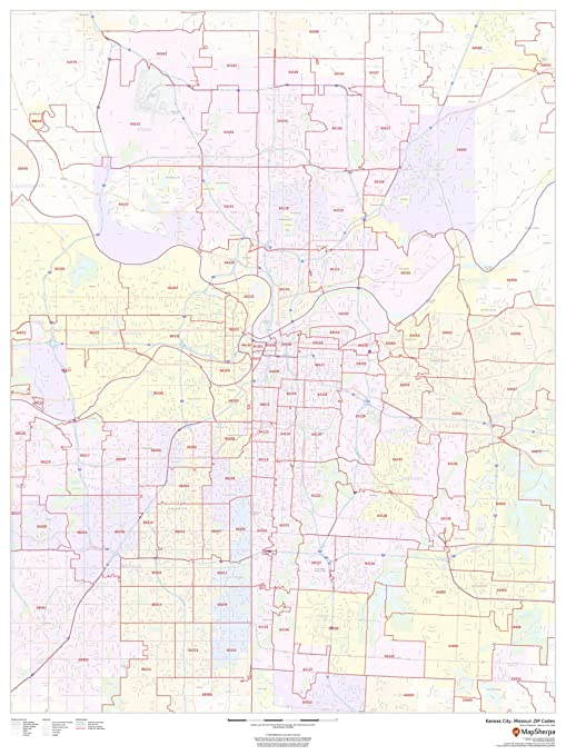 Amazon.com : Kansas City, Missouri Zip Codes - 36