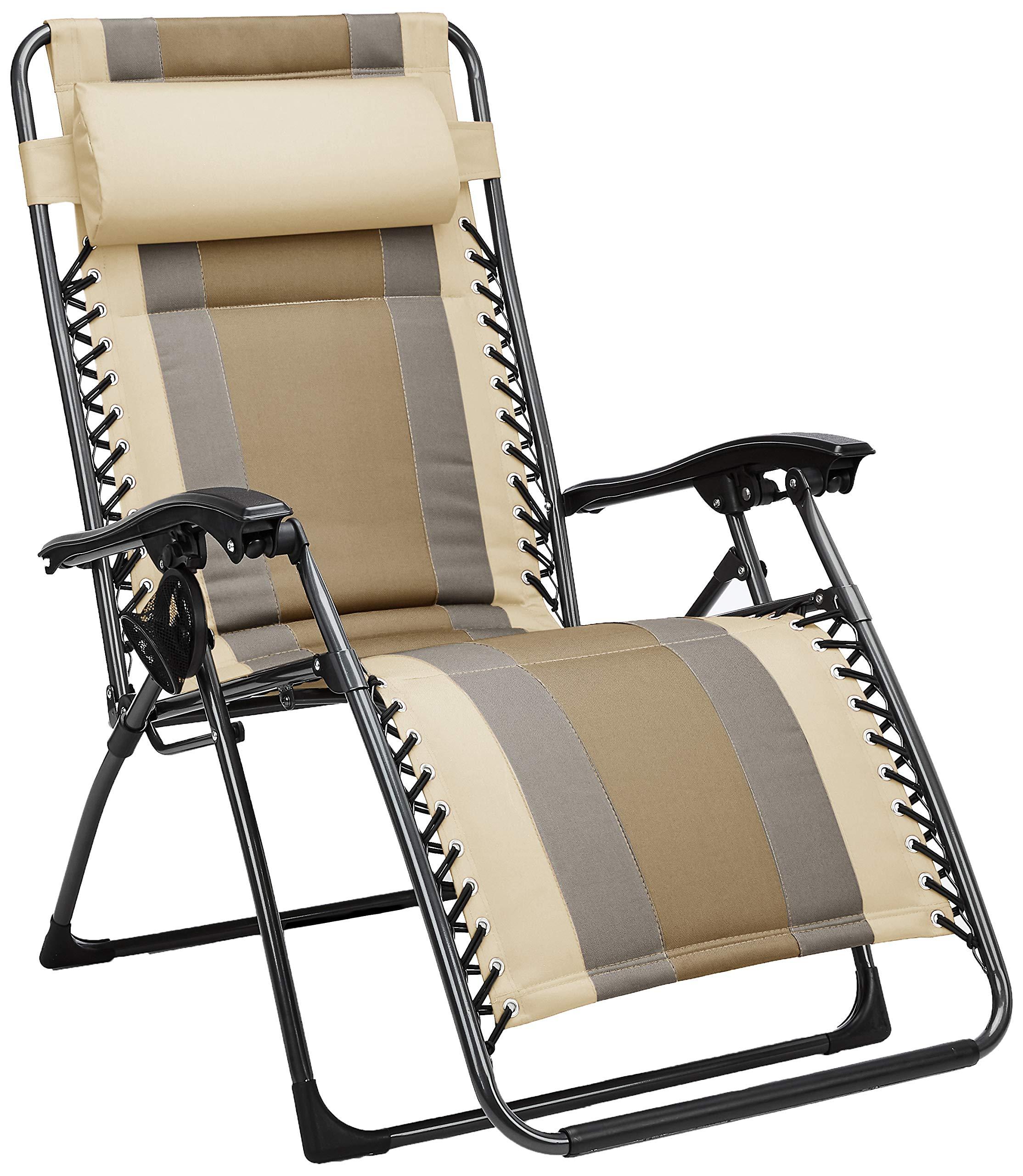AmazonBasics Padded Zero Gravity Chair- Tan by AmazonBasics
