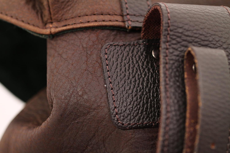 MON LEGIONNAIRE Sac à dos en cuir Vintage couleur INDUS sac randonnée PAUL MARIUS
