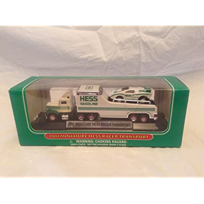 2001 Miniature Hess Racer Transport: Toys & Games