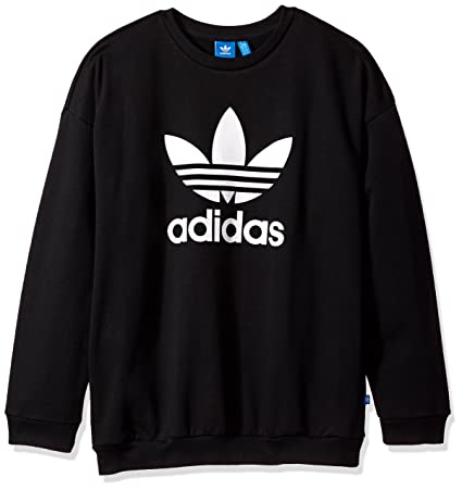 63aef70b95743 adidas Originals Women s Trefoil Sweatshirt in Black Price  Varies (42  Reviews) at Amazon®
