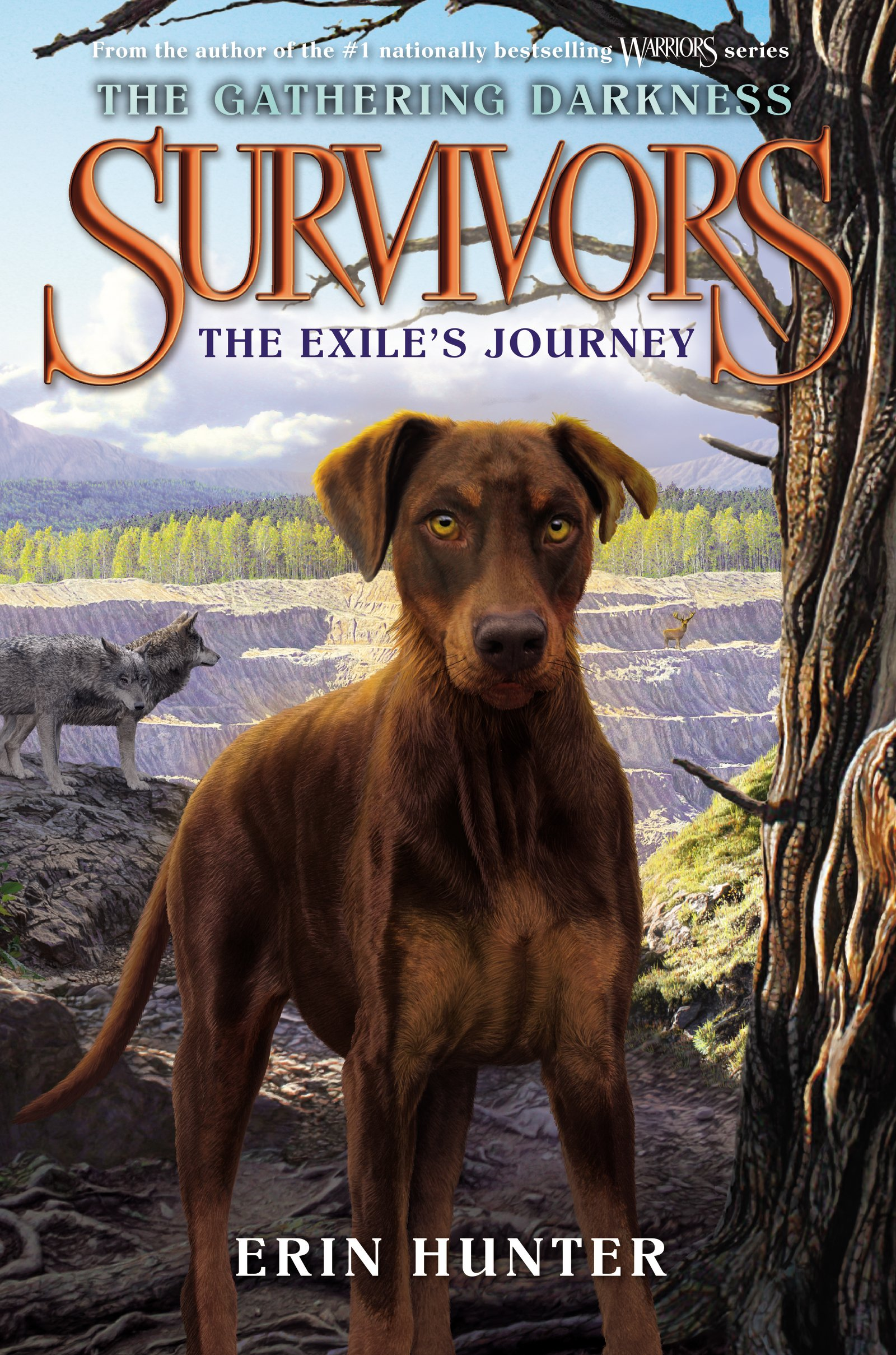 Survivors: The Gathering Darkness #5: The Exile's Journey by HarperCollins (Image #1)