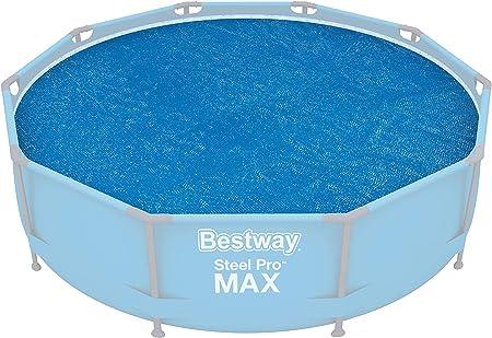 Amazon.com: Bestway - Cubierta solar para piscina: Jardín y ...