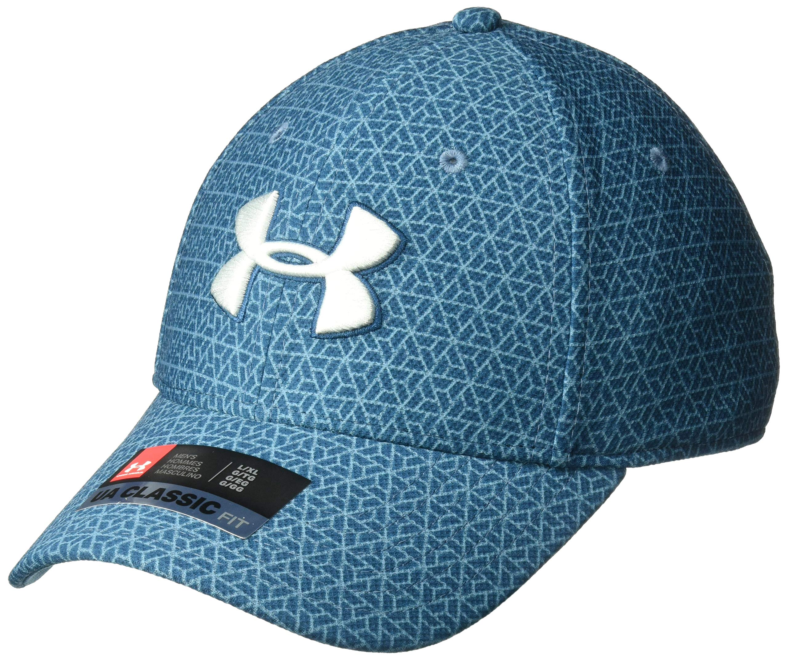7cf241ae4fe Galleon - Under Armour Men s Printed Blitzing 3.0 Stretch Fit Cap ...