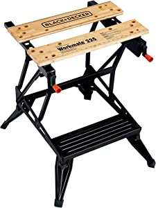 BLACK+DECKER WM225-A Portable Project Center and Vise
