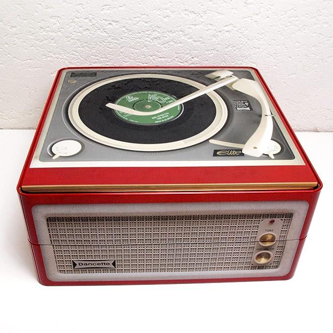 Tocadiscos LP caja de almacenamiento gigante: Amazon.es: Bricolaje ...