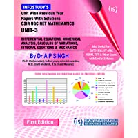 Unit-wise Previous Year Papers with Solutions CSIR UGC NET MATHEMATICS UNIT-3