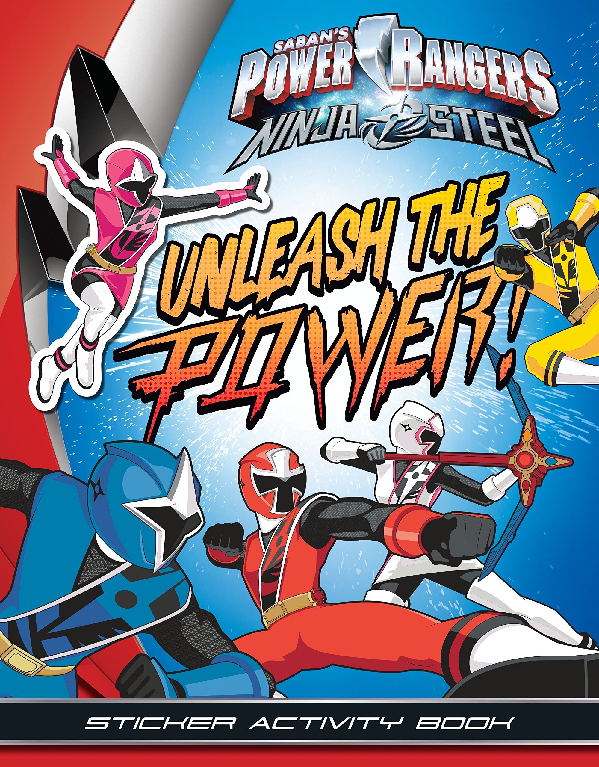 Unleash the Power! Sticker Activity Book Power Rangers Ninja ...