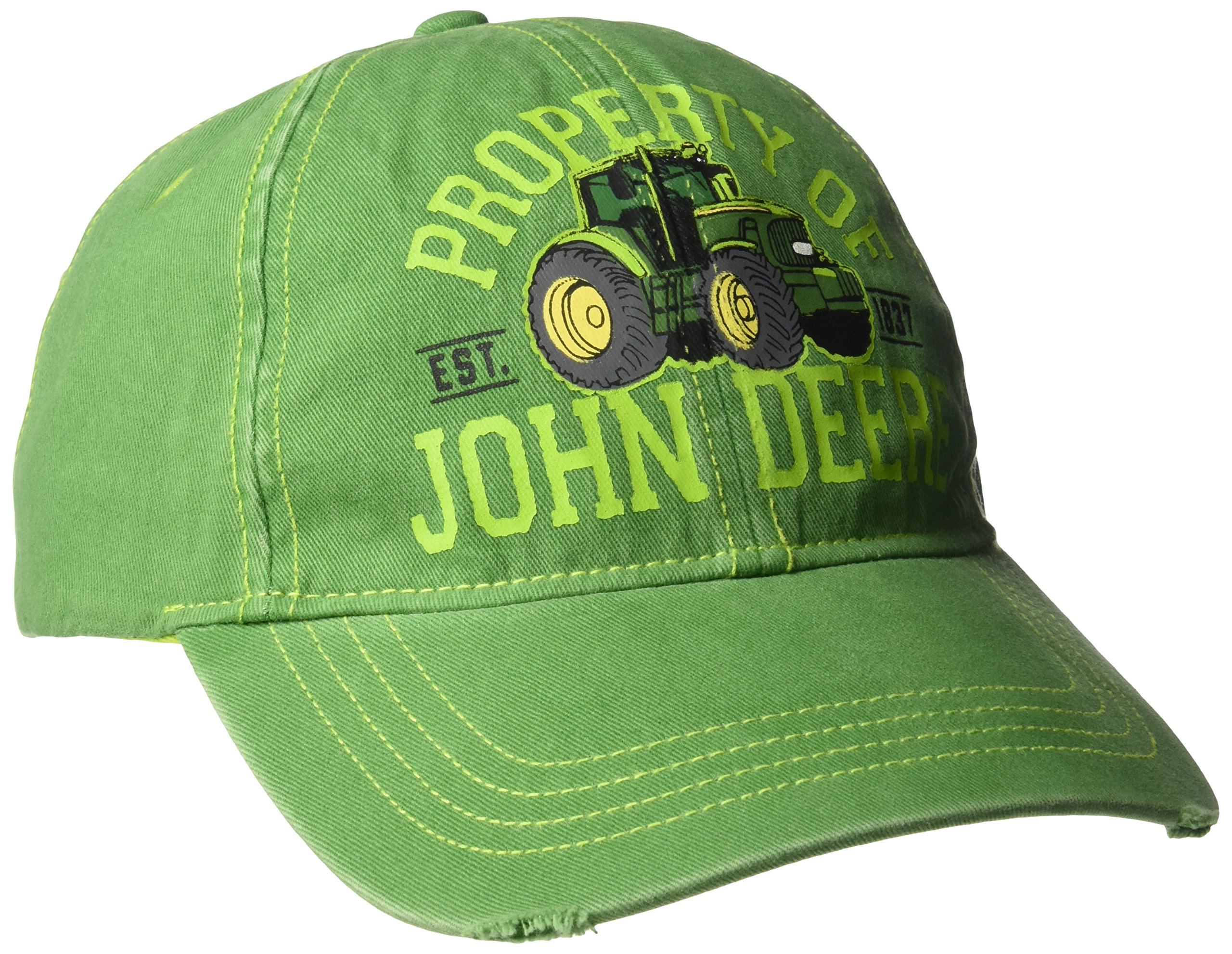 John Deere Boys' Little Baseball Cap, Green, Toddler by John Deere