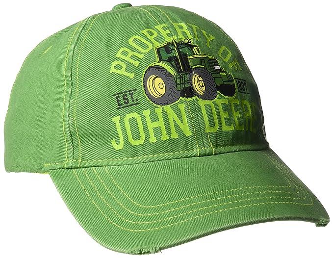 John Deere Varones JSBH Gorra de béisbol Gorra de béisbol - Verde - Para  jóvenes  Amazon.es  Ropa y accesorios cd33f685592