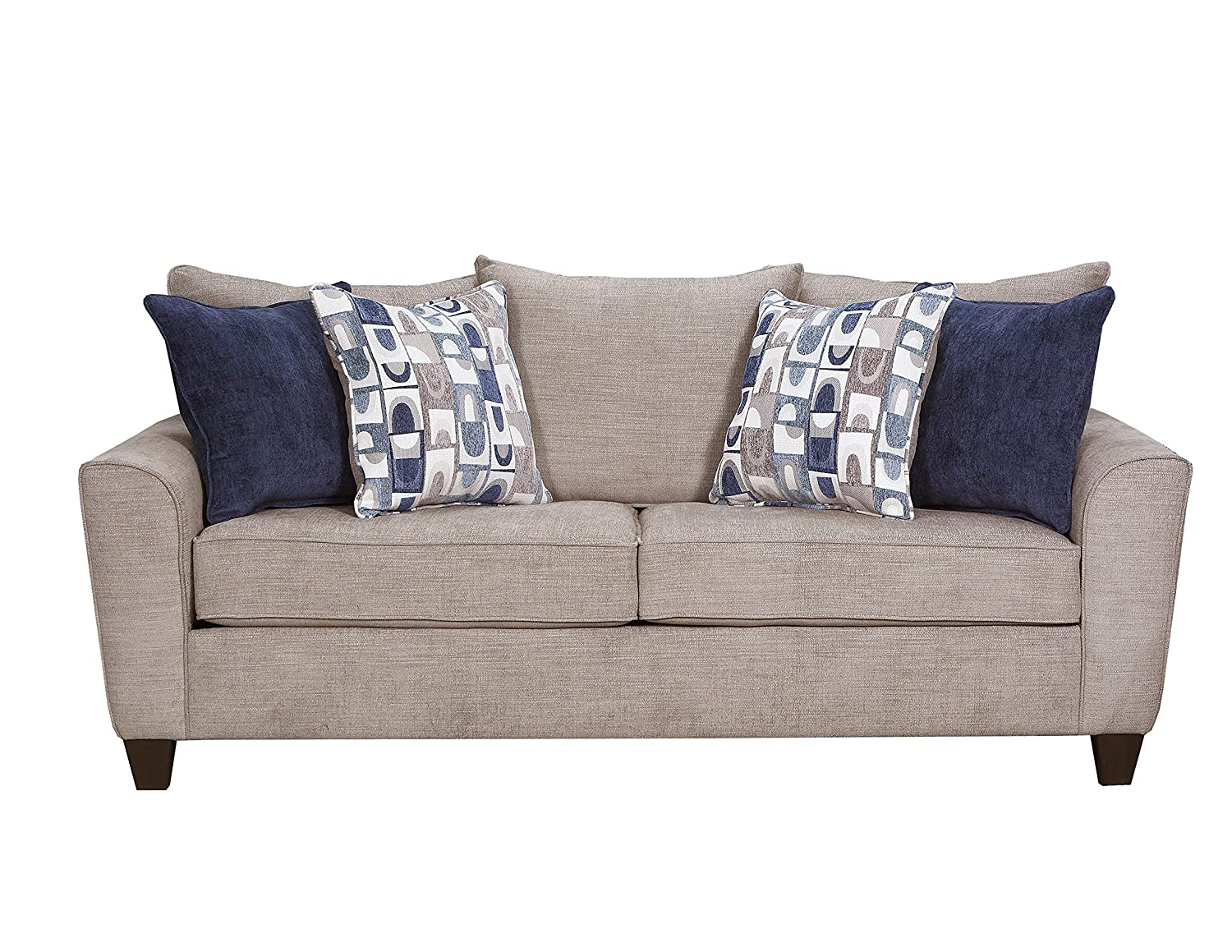 Peachy Simmons Upholstery 9096 03 Alamo Grey Sofa Caraccident5 Cool Chair Designs And Ideas Caraccident5Info