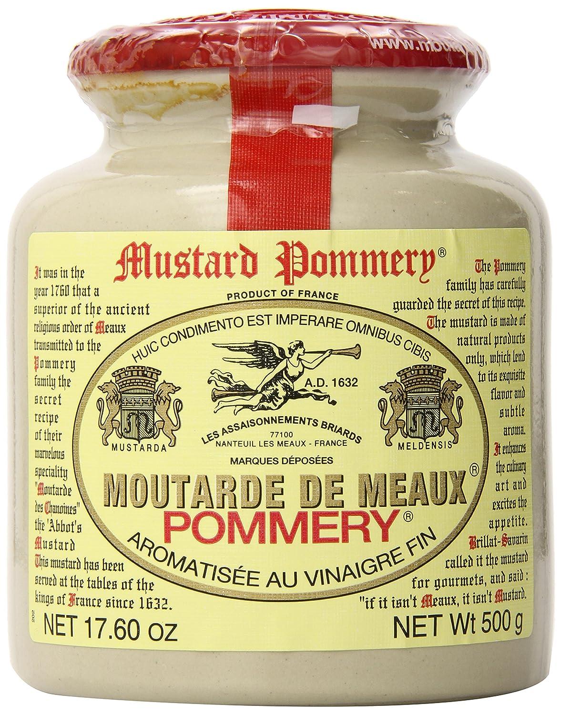 Pommery Meaux Mustard Stone Jar, 17.6-Ounce