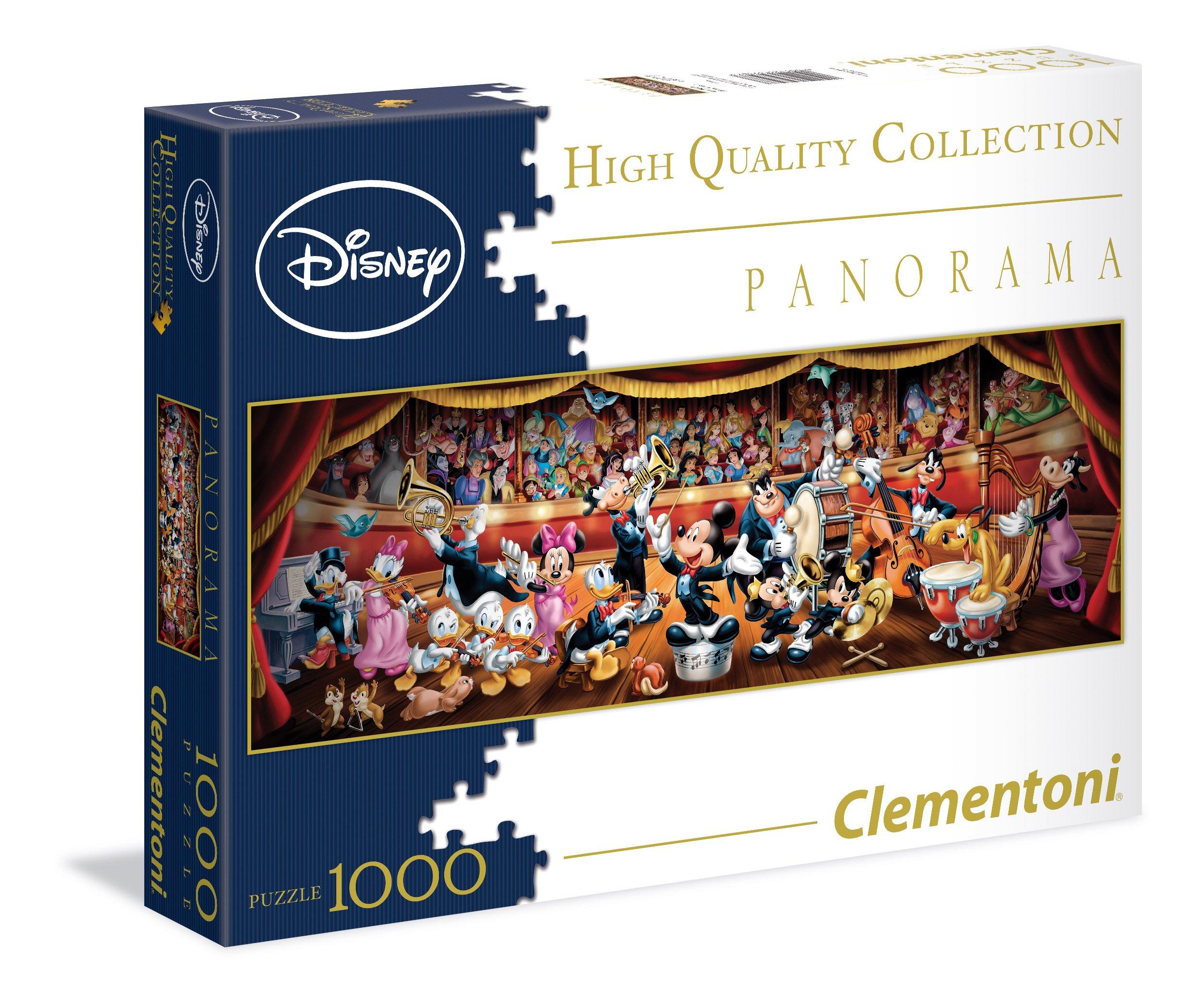 Disney Classic 1000 Piece Panorama Puzzle Children's Jigsaw Clementoni 12+