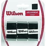 Wilson Pro Soft Overgrip Bk Manico da Racchetta, Nero, Taglia Unica