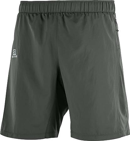 fee5019272 Amazon.com : Salomon Agile 2in1 Short M, Urban Chic, Small : Sports ...