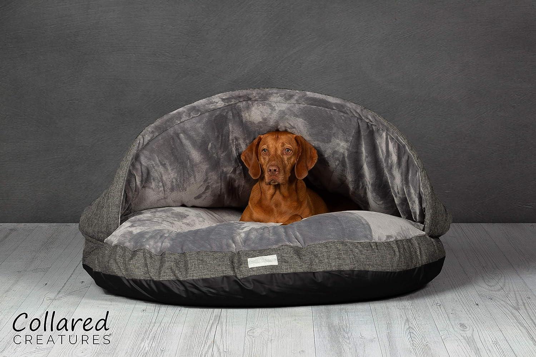 Cama estilo cueva por Collared Creatures extra grande 1.140 mm para perros: Amazon.es: Productos para mascotas