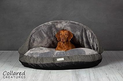 Cama estilo cueva por Collared Creatures extra grande 1.140mm para perros