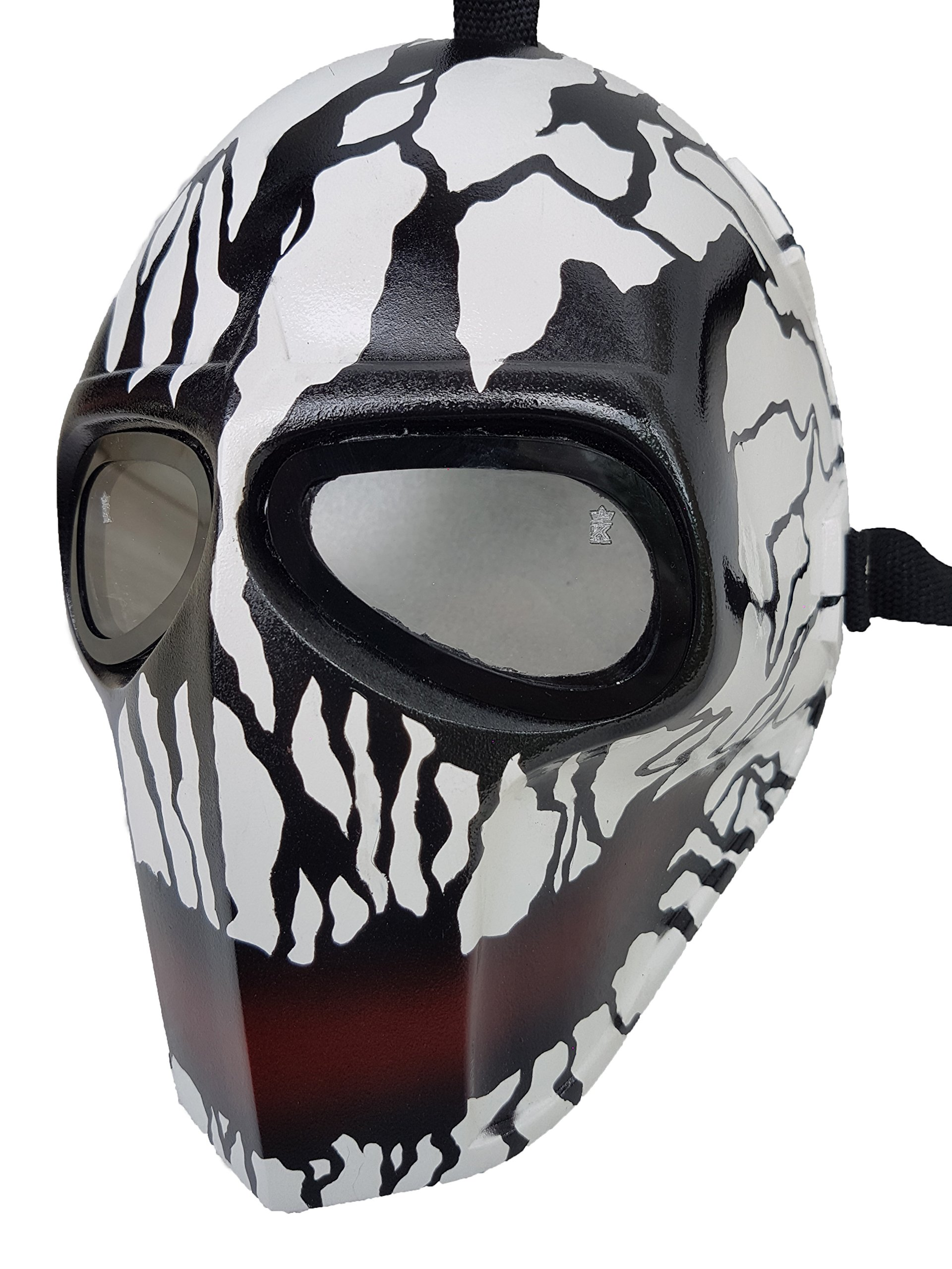 Invader King ® Crank Paintball Mask Airsoft Mask Protective Gear Outdoor Sport Fancy Party Ghost Masks Bb Gun