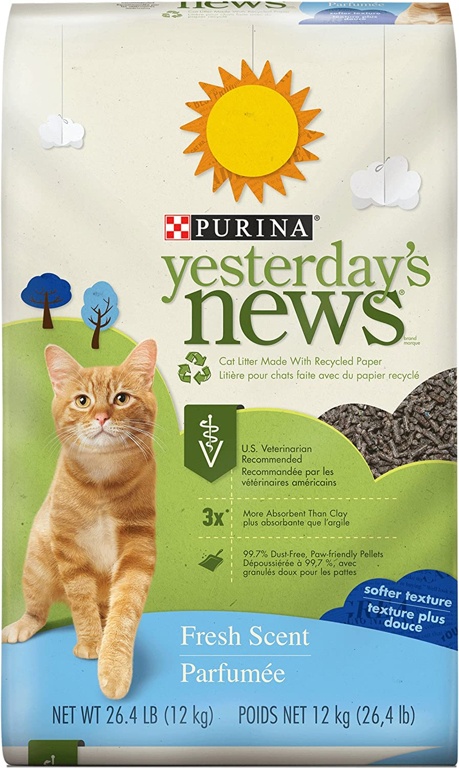 Purina Yesterday's News Fresh Scent Paper Cat Litter