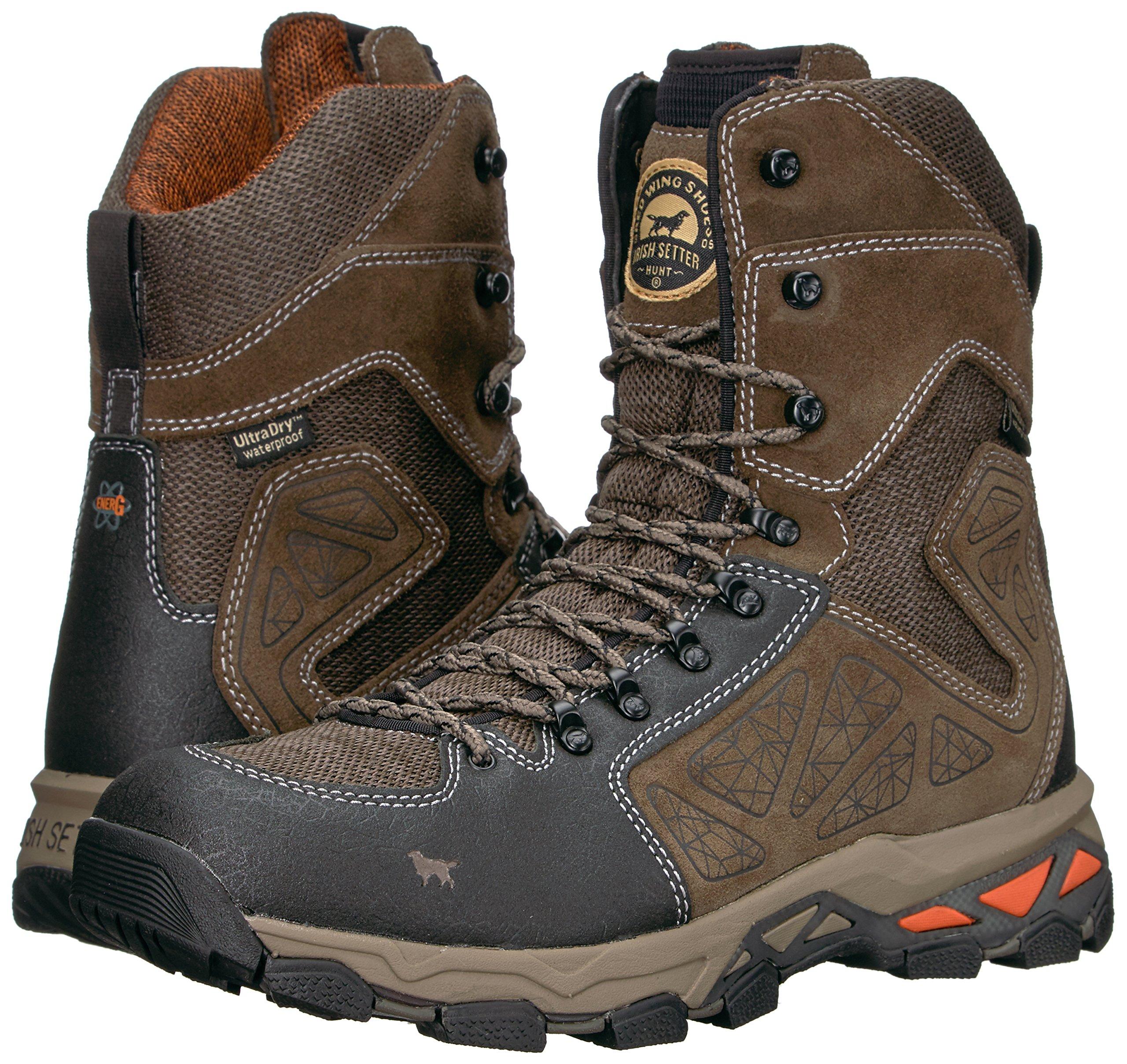 Irish Setter Men's Ravine-2885 Hunting Shoes, Gray