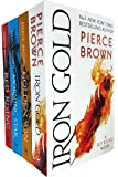 Red Rising Series 4 Books Collection Set by Pierce Brown (Red Rising, Golden Son, Morning Star, Iron Gold)
