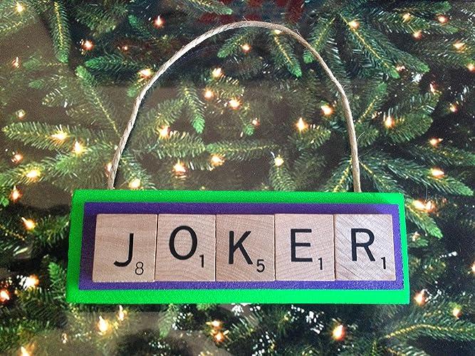 Joker Christmas Ornament.Amazon Com Joker Dc Comics Christmas Ornament Batman