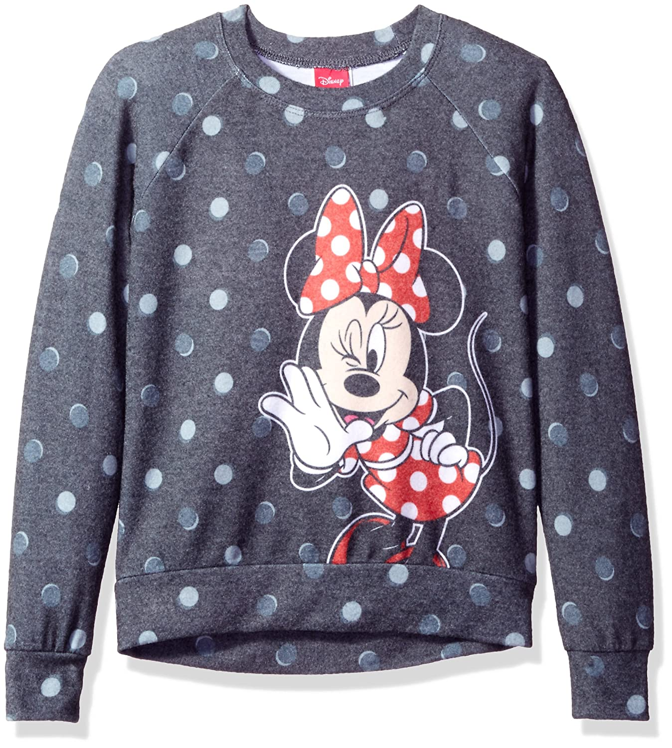 Disney Girls' Minnie Mouse Sublimated Pullover Jerry Leigh Character Apparel ST1923 M9460B 51776A-G