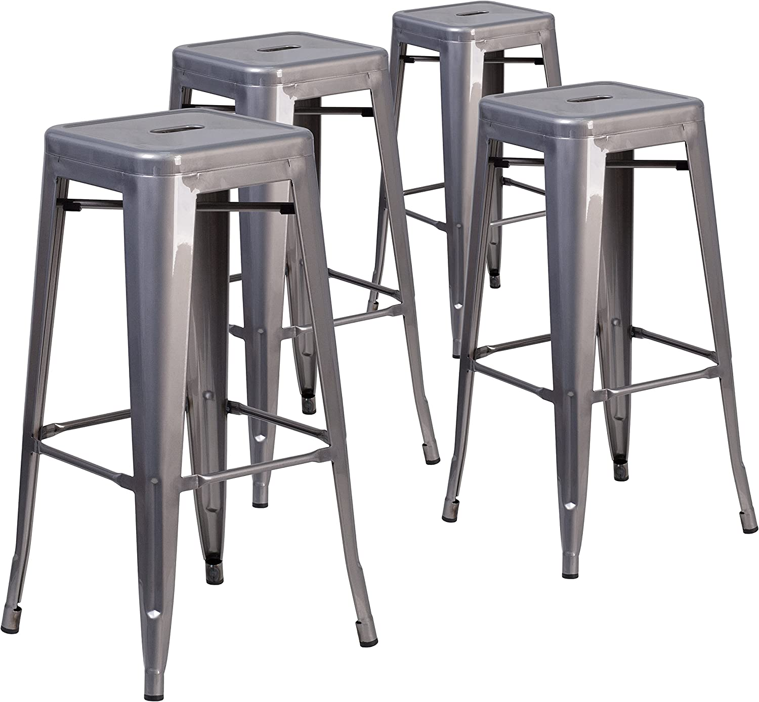 best backless metal bar stool