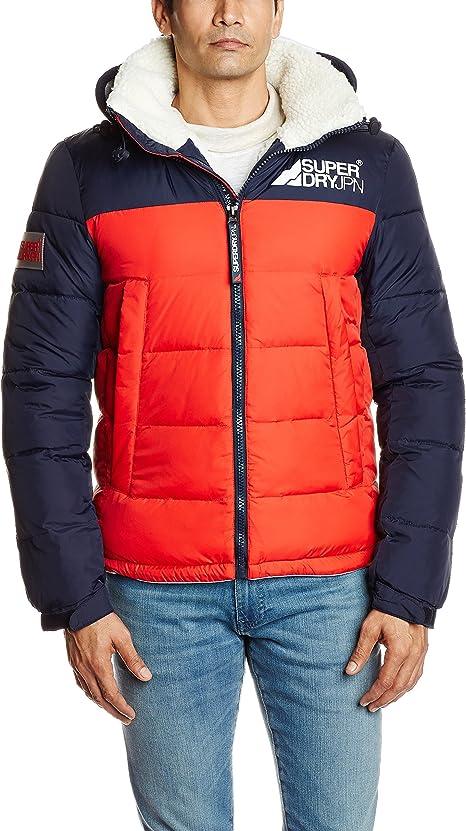 Superdry Manteau Mountain Mark Sherpa Vestes pour Homme
