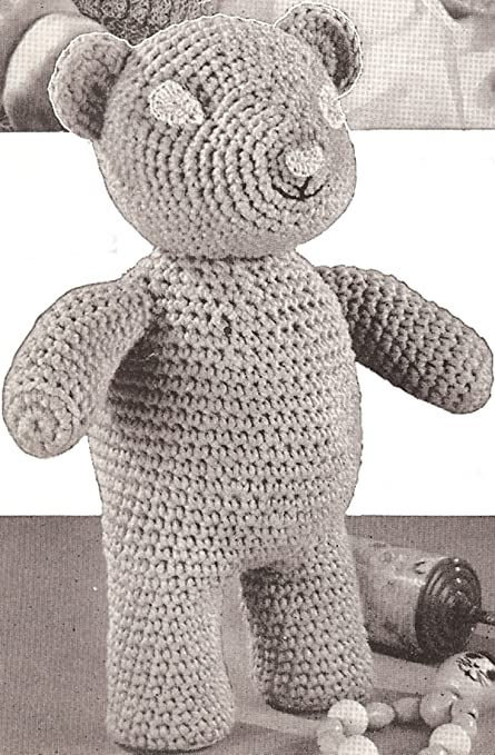 Free Crochet Teddy Bear Pattern - Lucy Kate Crochet | 679x445