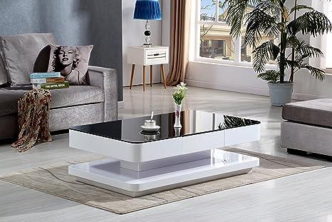 Tavolo nero eccezionale tavolo flat struttura alluminio nero e