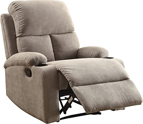 ACME Furniture 59549 Rosia Recliner, One Size, Gray