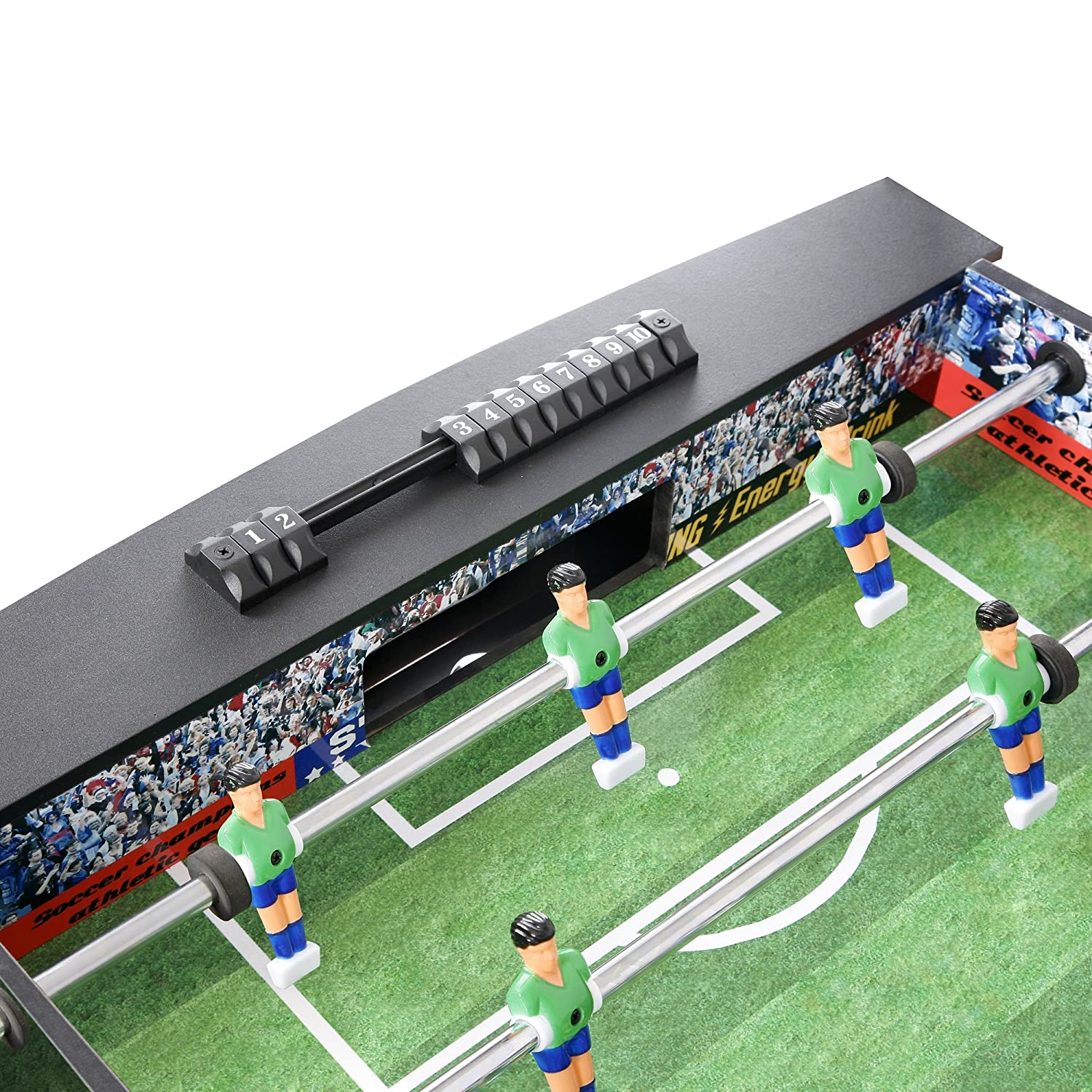 Great Amazon.com : Hathaway Playoff 4u0027 Foosball Table, Soccer Game For Kids And  Adults With Ergonomic Handles, Analog Scoring And Leg Levelers : Foosball  Tables ...