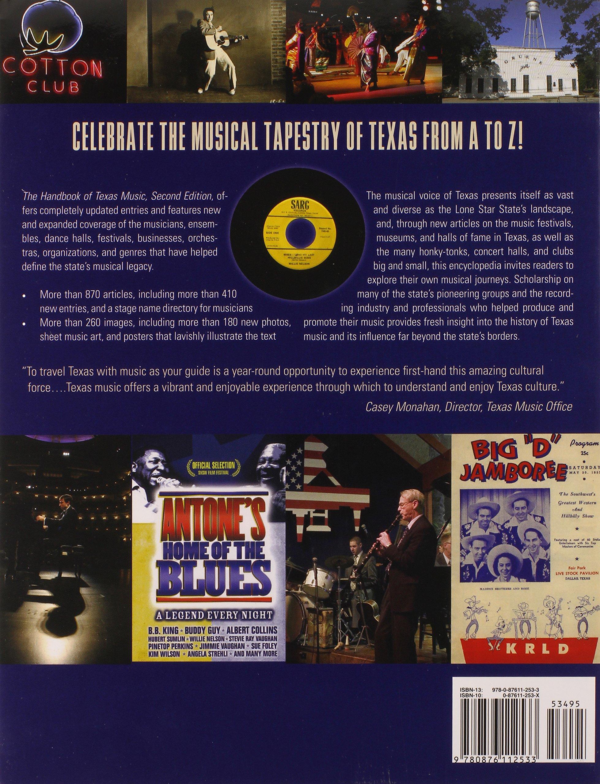 handbook of texas music laurie e jasinski casey monahan