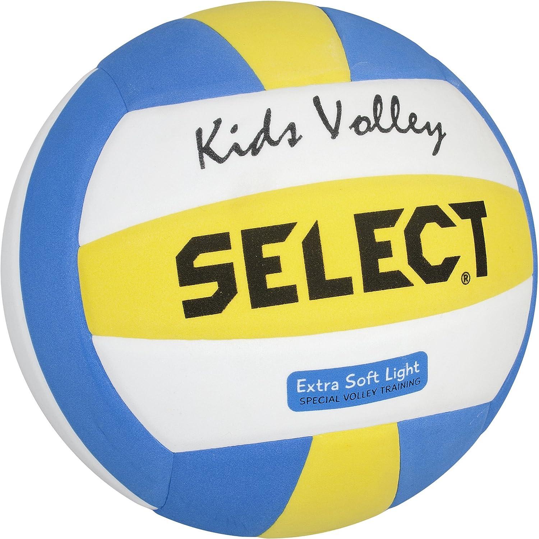 SELECT 4 2144600205 - Pelota de Voleibol, Color Blanco, Azul y ...
