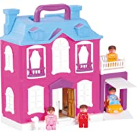 Toyzone Dream Palace Doll House & Play Set for Girls (Multicolor)
