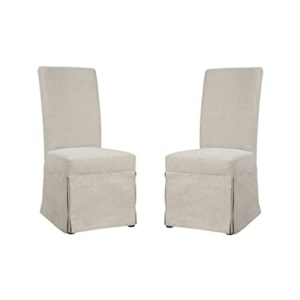 Emerald Home Paladin Rustic Charcoal And Buff Linen Upholstery, Gunmetal  Gray Harware Upholstered Dining Chair